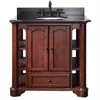"Avanity Vermont 37"" Single Bathroom Vanity - Mahogany VERMONT-36-MA"