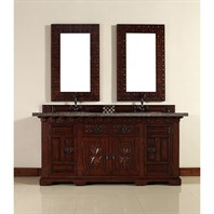 "James Martin 72"" Monterey Double Vanity - Antique Brandy 170-V72-ANB"