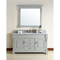 "James Martin 60"" Brookfield Single Cabinet Vanity - Urban Gray 147-114-5391"