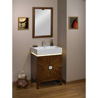 "Fairmont Designs Half Moon Bay 24"" Vanity (LED) - Brown Cabernet Fairmont Designs 132-VS24LED"