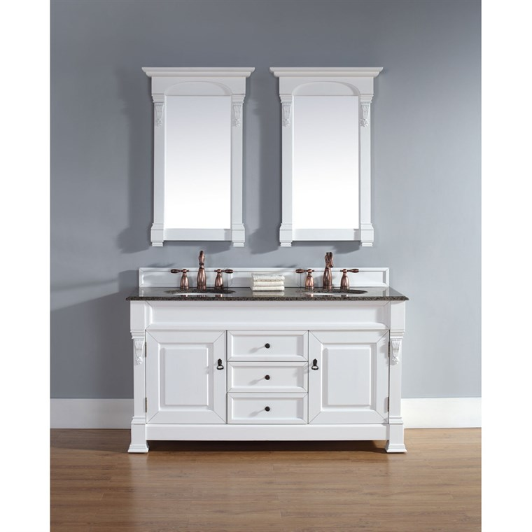 "James Martin 60"" Brookfield Double Cabinet Vanity - Cottage 147-114-5641"