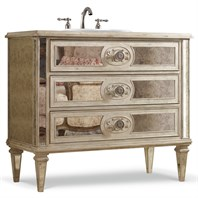 "Cole & Co. 42"" Designer Series Olivia Vanity - Distressed White 11.22.275542.26"