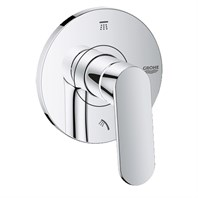 Grohe Europlus 3-Port Diverter Trim - Chrome GRO 118307
