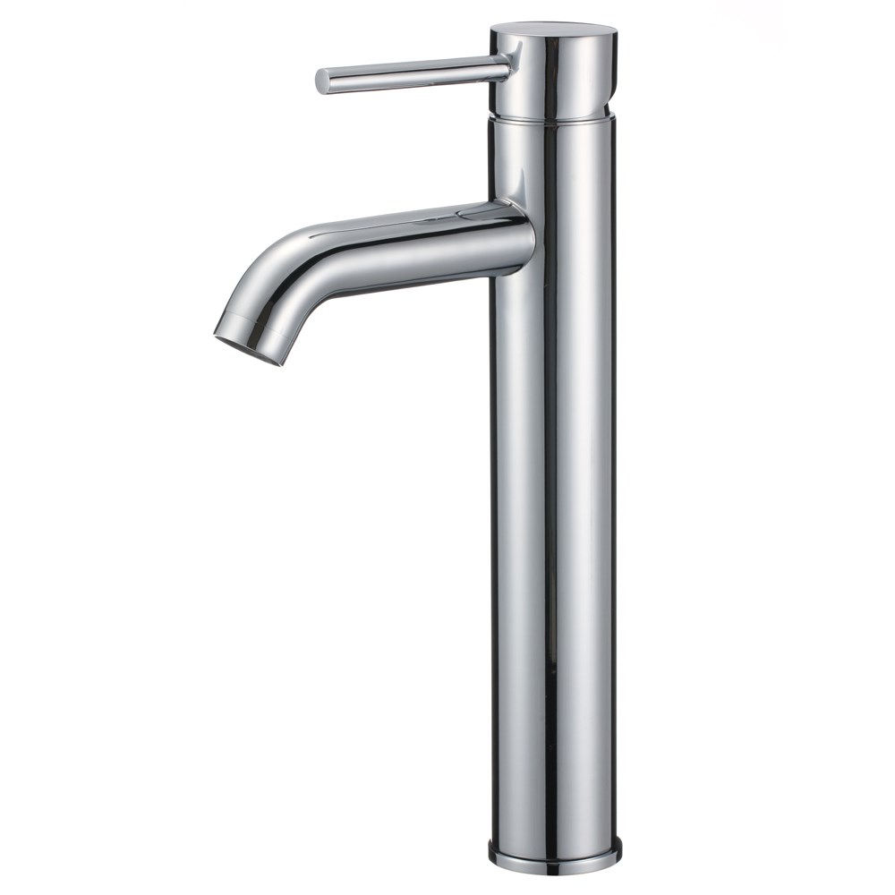 Tourno Tall Single-Hole Bathroom Faucet | Free Shipping - Modern ...