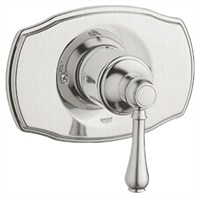 Grohe Geneva Pressure Balance Valve Trim with Lever Handle - Infinity Brushed Nickel