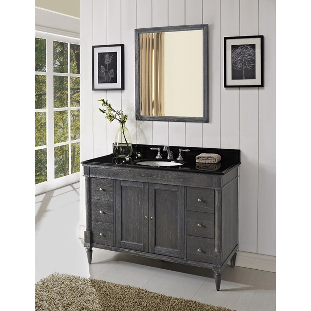 "Fairmont Designs Rustic Chic 48"" Vanity - Silvered Oak 143-V48_"