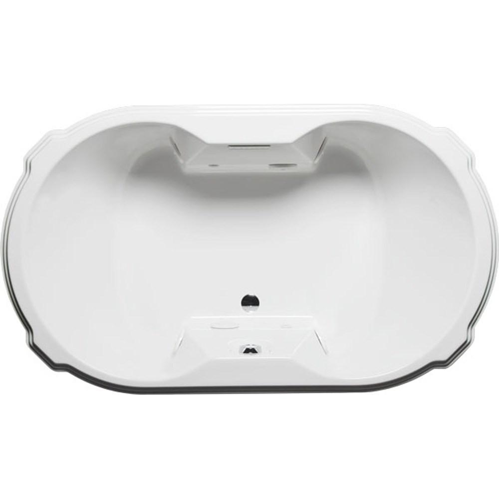 "Americh Tihana 7242 Whisper Bathtub (72"" x 42"" x 23"")nohtin Sale $4875.00 SKU: TH7242W :"