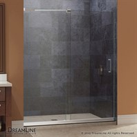 "Bath Authority DreamLine Mirage Frameless Sliding Shower Door and SlimLine Single Threshold Shower Base (30"" by 60"") DL-6441"