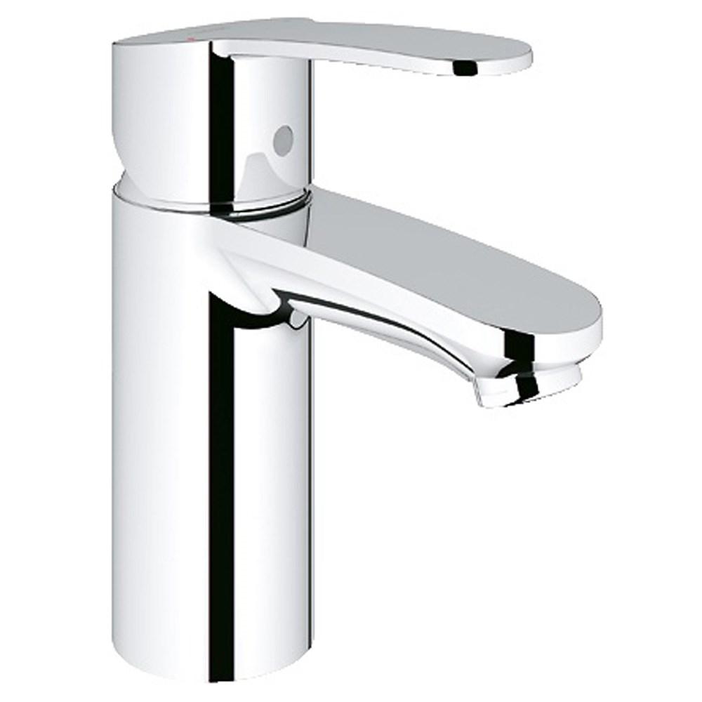 Grohe Eurostyle Cosmopolitan Lavatory Single-hole Centerset S-Size - Starlight Chromenohtin Sale $163.99 SKU: GRO 23042002 :