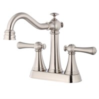 Danze Cape Anne Two Handle Centerset Lavatory Faucet - Brushed Nickel D301026BN
