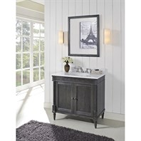 "Fairmont Designs Rustic Chic 36"" Vanity for - Silvered Oak 143-V36_"