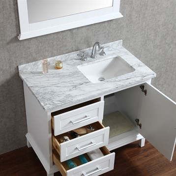Seacliff By Ariel Nantucket 42 Quot Single Sink Bathroom