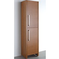 Wyndham Collection Como Storage Cabinet - Pear Wood