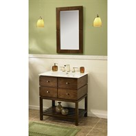 "Fairmont Designs Windwood 30"" Vanity - Natural Walnut 111-VH30"