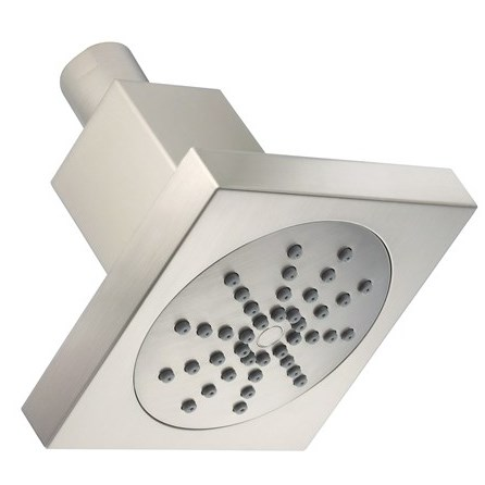 "Danze 4"" Square Single Function Showerhead 2.0 GPM - Brushed Nickelnohtin Sale $53.25 SKU: D460050BN :"