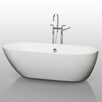 Melissa soaking bathtub free shipping modern bathroom for Most comfortable tub reviews