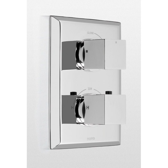 TOTO Lloyd® Thermostatic Mixing Valve Trim with Single Volume Controlnohtin Sale $484.80 SKU: TS930C :