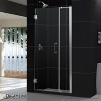 "Bath Authority DreamLine Unidoor Frameless Adjustable Shower Door (36""-37"") SHDR-20367210C"