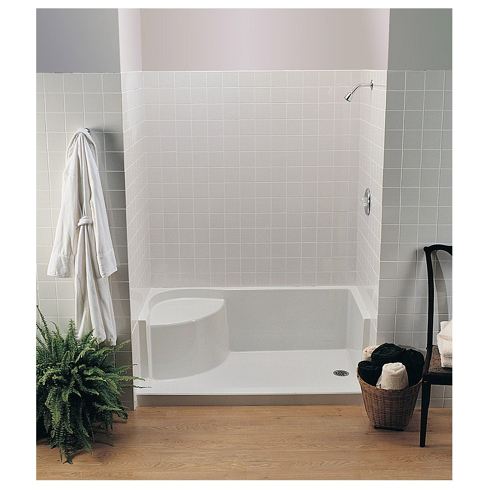 "MTI MTSB-6036Seated Shower Base (59.75"" x 35.5"" x 21.5"")nohtin Sale $1140.00 SKU: MTSB-6036SEATED :"