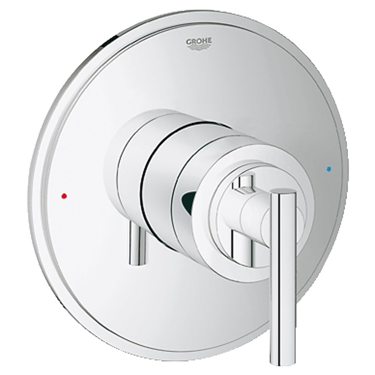 Grohe Atrio Single Function Pressure Balance Trim with Control Module - Starlight Chrome GRO 19866000