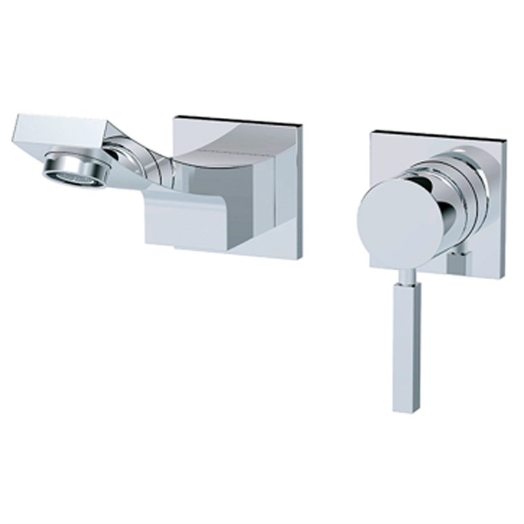 fluid Emperor - Single Lever Wall Mount Lavatory Faucet Trim Set F14008T
