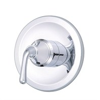 "Danze® Bannockburn™ Single Handle 3/4"" Thermostatic Shower Valve Trim Kit - Chrome"
