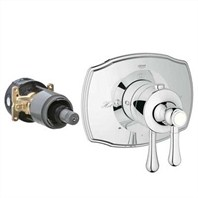 Grohe GrohFlex Authentic Dual Function Thermostatic Trim with Control Module - Starlight Chrome GRO 19825XXX