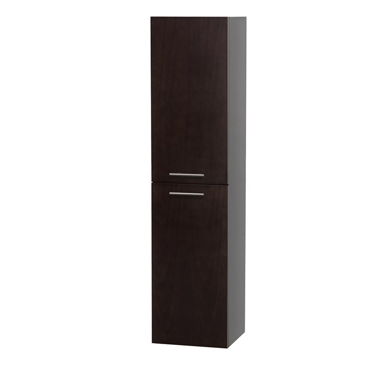 Bailey Wall Cabinet by Wyndham Collection - Espresso WC-V205-ESP