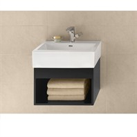 "RONBOW Catalina 22"" Vanity Integrated - Black RONBOW 016722-B02-INTEGRATED"