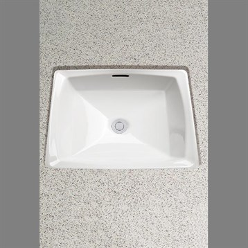 Toto Connelly Undercounter Lavatory, with CeFiONtect, ADA LT491G by Toto