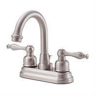 Danze® Sheridan™ Two Handle Centerset Arched Lavatory Faucet - Brushed Nickel