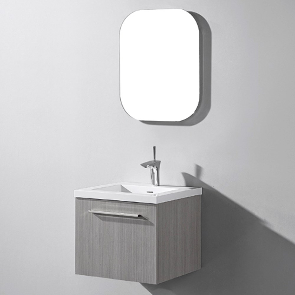Madeli Arezzo 20 Bathroom Vanity Ash Grey Free Shipping