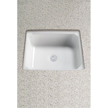 Toto Guinevere Undercounter Lavatory, with CeFiONtect LT973G by Toto