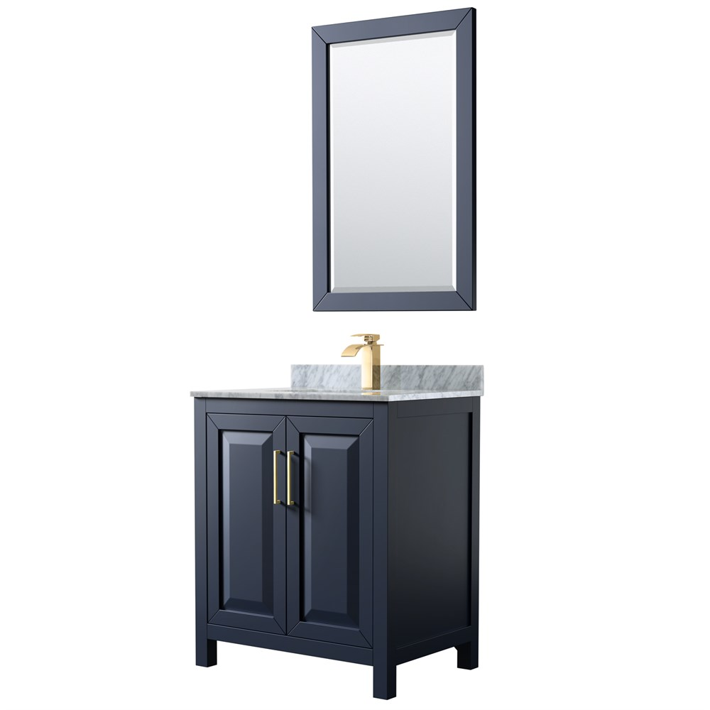 "Daria 30"" Single Bathroom Vanity by Wyndham Collection - Dark Espresso WC-2525-30-SGL-VAN-DES"