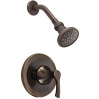 Danze Antioch Trim Only Single Handle Pressure Balance Shower Faucet - Tumbled Bronze D500522BRT