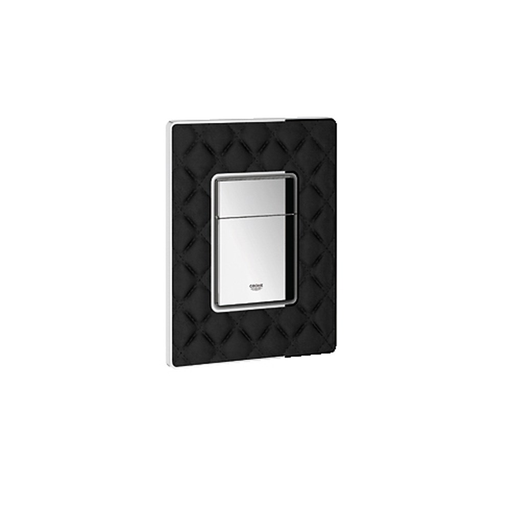 Grohe Skate Cosmopolitan Leather Dual Flush Wall Plate - XN0nohtin Sale $359.99 SKU: GRO 38913XN0 :
