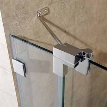 Vigo 48 Inch Frameless Shower Door 3 8 Quot Clear Glass Free
