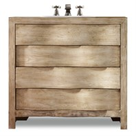 "Cole & Co. 36"" Designer Series Aidan Curved Chest - Natural Oak and Poplar 11.22.275536.14"