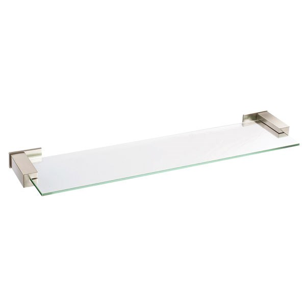 "Danze® Sirius™ Glass Shelf 24"" - Brushed Nickel D446135BN"