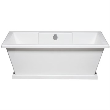 Americh julep 6636 freestanding tub 66 x 36 x 22 for Most comfortable tub reviews