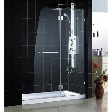Bath Authority Dreamline Aqua Lux Clear Glass Shower Door