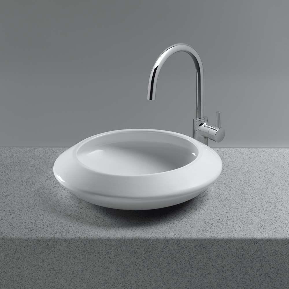 TOTO Curva Vessel Lavatory, Round | Free Shipping - Modern Bathroom
