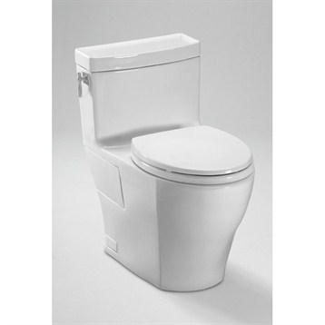 Toto Aimes One-Piece High-Efficiency Toilet MS626214CEF by Toto
