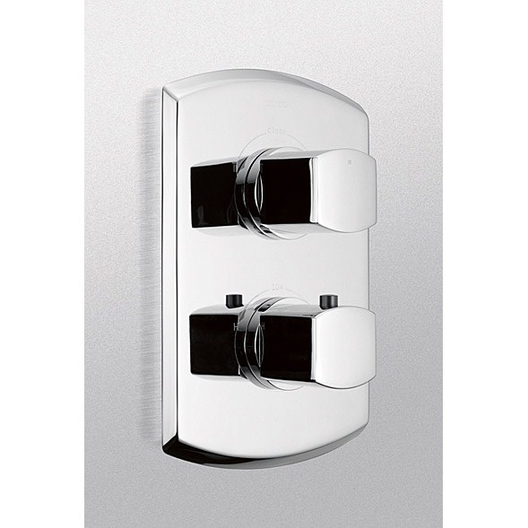 TOTO Soir�©e® Thermostatic Mixing Valve Trim with Dual Volume Controlnohtin Sale $377.60 SKU: TS960D :