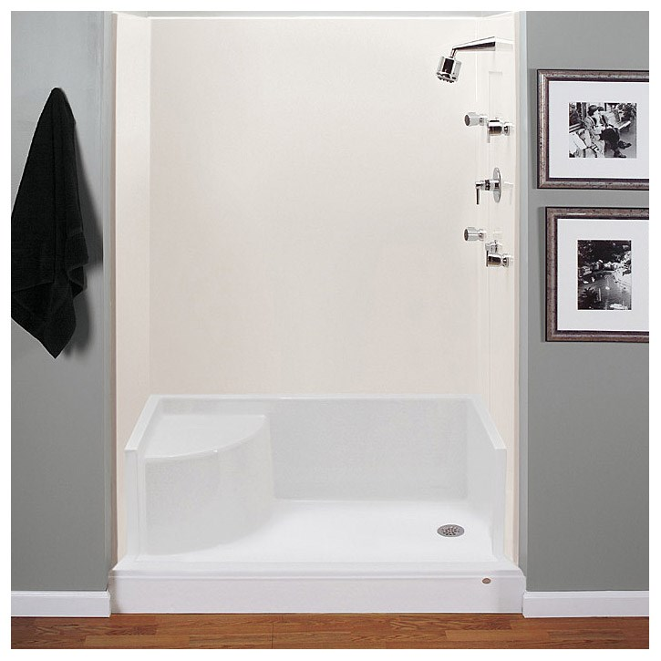 "MTI MTSB-6042Seated Shower Base (59.75"" x 41.75"" x 22"")"