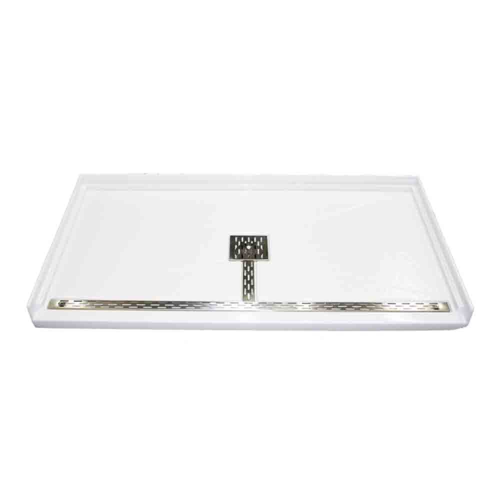 "MTI MTSB-6032BF Multi-Threshold Shower Base, Barrier Free (60"" x 32"")nohtin Sale $1443.75 SKU: MTSB-6032BF :"
