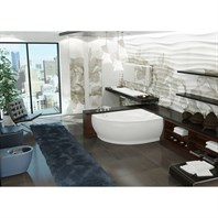 Aquatica Atlantica Freestanding AquaStone Bathtub - White Aquatica Atlantica