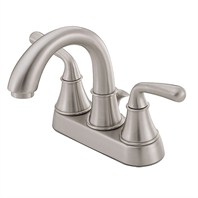 Danze® Bannockburn™ Two Handle Centerset Lavatory Faucet - Brushed Nickel
