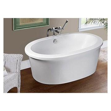 "MTI Antigua Free Standing Tub, 59.5"" x 35.25"" x 21.75"" by MTI"