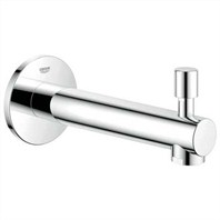 "Grohe BauLoop 5 1/2"" Diverter Tub Spout - Starlight Chrome GRO 13275001"